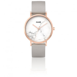 Reloj La Roche Rose Gold White Marble/Grey CL40005