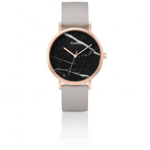 Reloj La Roche Rose Gold Black Marble/Grey CL40006
