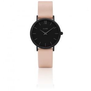 Reloj Minuit Full Black Nude CL30027