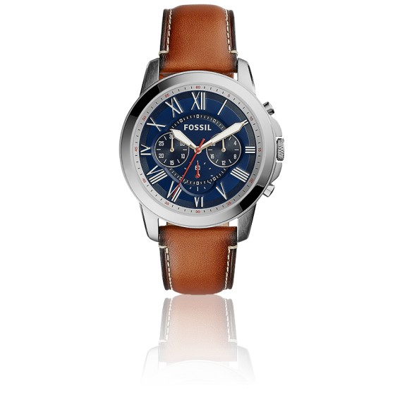 46b2f3c0c185 Reloj clásico Fossil modelo Grant con Chronographe. - Ocarat