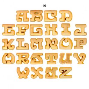 Letras para soldar Anillos de Sello Oro 18K
