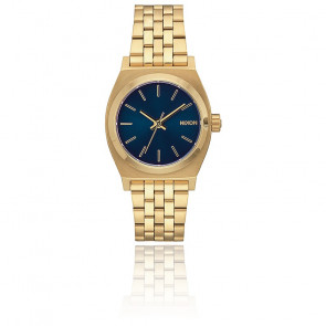 Reloj Medium Time Teller All Light Gold / Cobalt A1130-1931