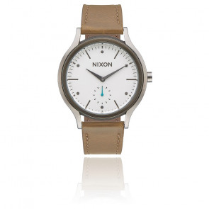 Reloj Nixon Sala Leather White / Tan A995-2364