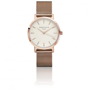 Reloj The Mercer White Rose Gold MWR-M42