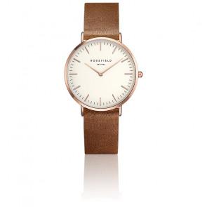 Reloj La Tribeca White Brown Rose Gold TWBRR-T55