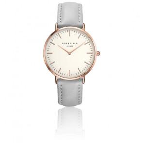 Reloj The Bowery White Grey Rose Gold BWGR-B9