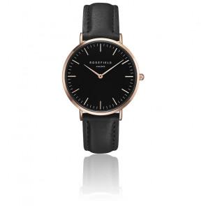 Reloj The Bowery Black Black Rose Gold BBBR-B11