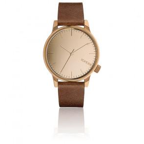 Reloj Winston Mirror Rose Gold Cognac