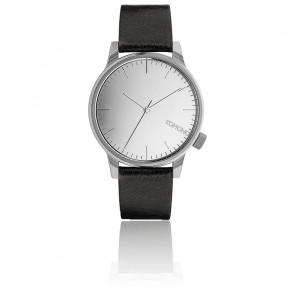 Reloj Winston Mirror Silver Black