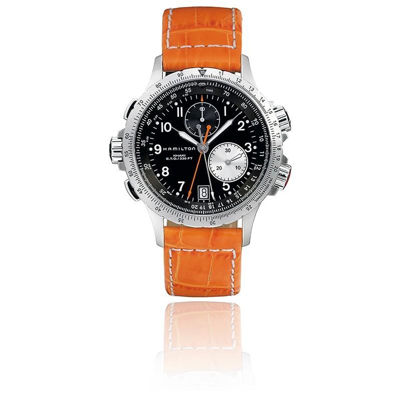 Reloj Aviador Khaki Eto Chrono H77612933 Hamilton Ocarat