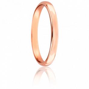 Alianza Caña Parisina 2,50 mm Oro Rosa