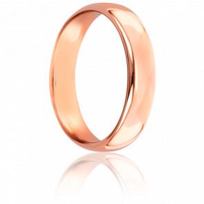 Alianza Caña Parisina 4,50 mm Oro Rosa