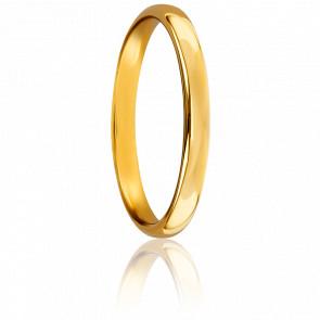 Alianza Oro Amarillo 18k 2,5mm, Sylvie