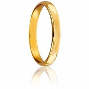 Alianza Oro Amarillo 18k 3mm, Sylvie
