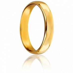 Alianza Oro Amarillo 18k 4mm, Sylvie