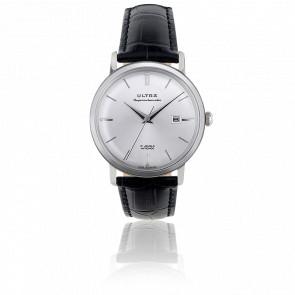 Reloj Superautomatic Plata Black Cocodrile