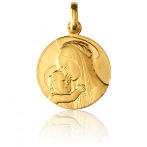 Medalla Virgen de Botticelli