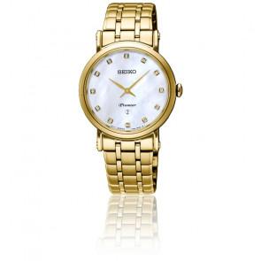 Reloj Premier Cuarzo Dorado SXB434P1