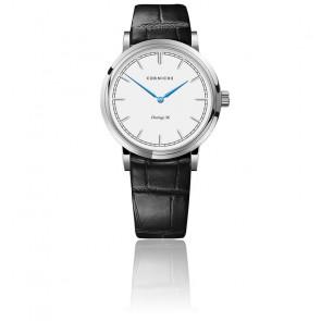Reloj Heritage 36 Steel / White Dial