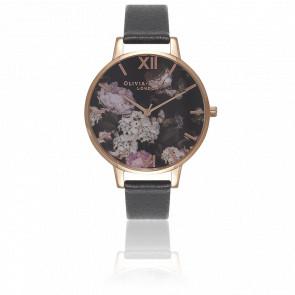 Reloj Winter Garden Rose Gold Black OB15WG12