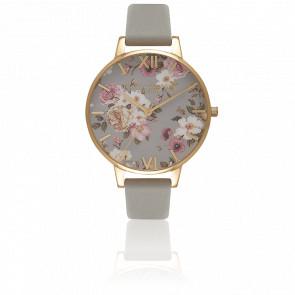Reloj Flower Show Big Dial Gold Grey OB16FS81