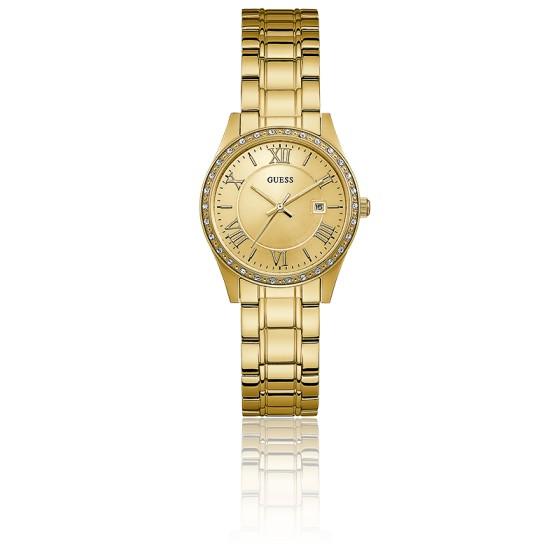 Reloj de mujer dorado guess
