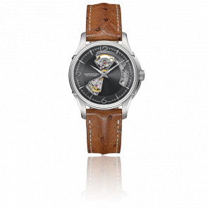 Reloj automático Jazzmaster Open Heart H32565585
