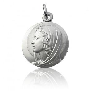 Medalla Virgen Contaux Plata
