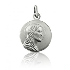 Medalla Jesús Perfil Plata