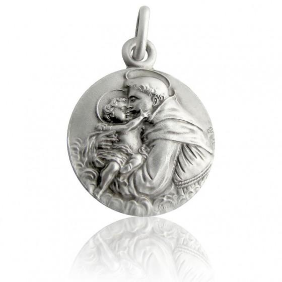 fada3efbd39 Medalla de plata de San Antonio de firma Martineau. - Ocarat