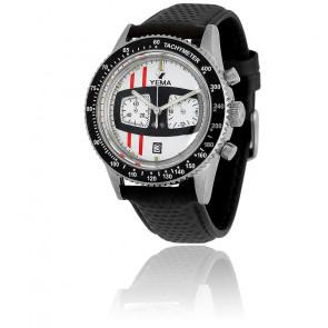 Reloj Rallygraf Cuero negro YMHF1477