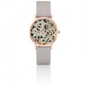 Reloj La Roche Petite Rose Gold Dalmatian/Grey CL40106