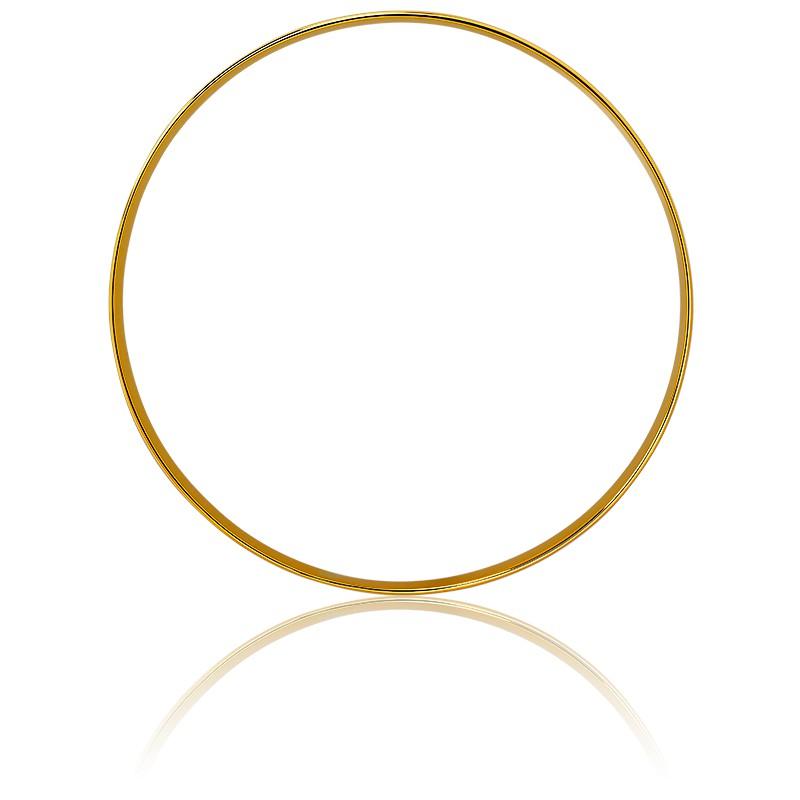 3705f50b2aef Pulsera de oro 18kt de media caña Emanessence - Ocarat