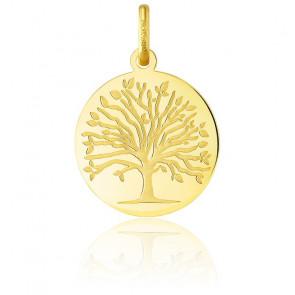 Colgante Árbol de la Vida Oro Amarillo 18K Primavera