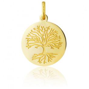 Colgante Árbol de la Vida Oro Amarillo 18K Raíces
