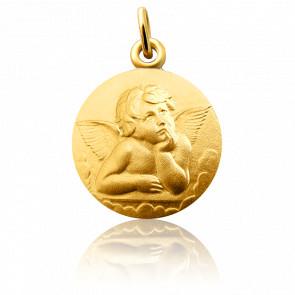 Medalla Ángel Rafael Oro amarillo 18K