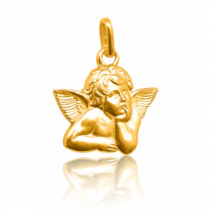 Colgante Angel Rafael Oro Amarillo 18K
