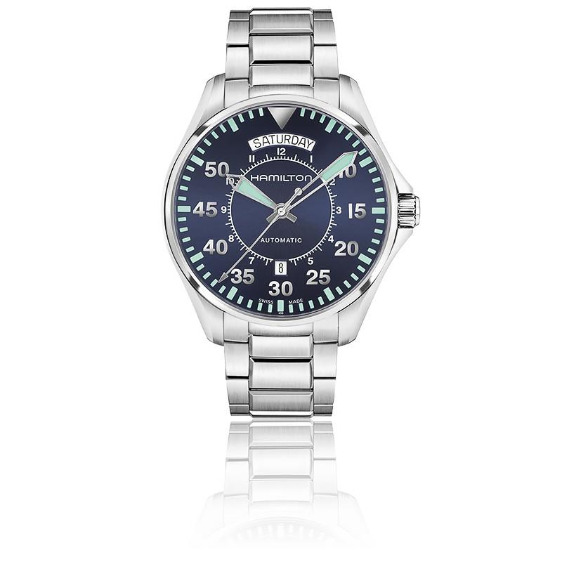 3f0ccfa340a2 Hamilton Reloj Khaki Field Day Date Auto H64615145