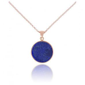 Collar Alba Disco Lapislázuli