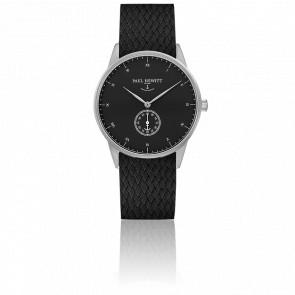 Reloj Signature Line Silver Black Sea Perlon Negro
