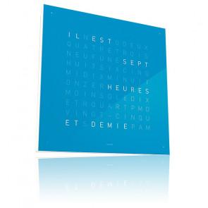 Reloj Qlocktwo Classic - Blue Candy - 45 cm