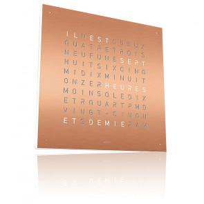 Reloj Qlocktwo Classic : Copper
