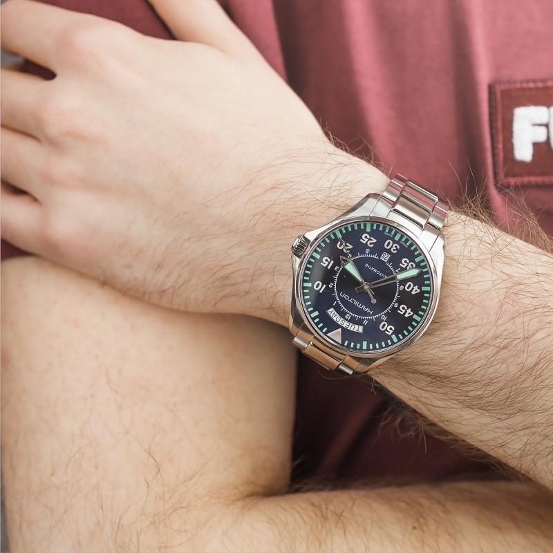 Reloj Hamilton Khaki Field Day Date Auto H64615145 Ocarat