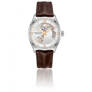 Reloj automático Jazzmaster Open Heart H32705551