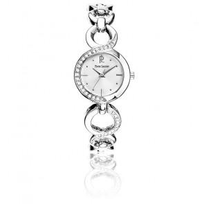 Reloj Mujer 102M621 Metal Plateado y Strass