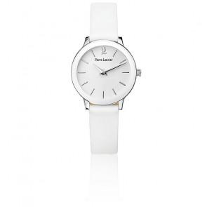 Reloj mujer 019K600 cuero blanco