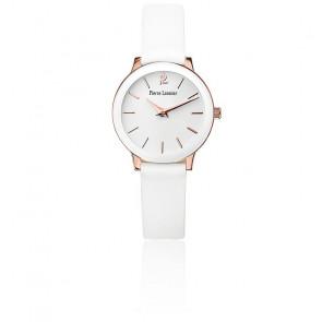 Reloj Mujer 023K900 Cuero Blanco