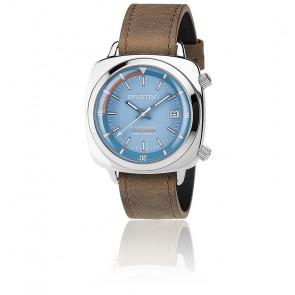 Reloj de buceo Clubmaster Diver Acero - Esfera Azul Cielo
