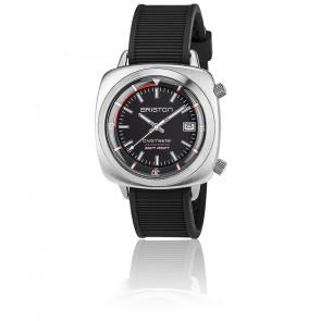 Reloj de buceo Clubmaster Diver - Acero y caucho negro