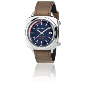 Reloj de buceo Clubmaster Diver Acero - Esfera Azul